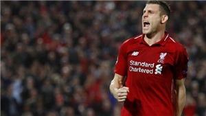 CĐV Liverpool phát cuồng vì thống kê 'khủng' của Milner sau trận thắng PSG