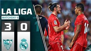 Video Sevilla 3-0 Real Madrid: Thất bại tan tác trong đêm Barca cũng thua sốc