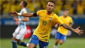 Neymar trở thành đội trưởng chính thức của tuyển Brazil