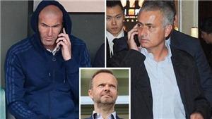 Vì sao M.U phải cân nhắc kĩ về việc thay Mourinho bằng Zidane?