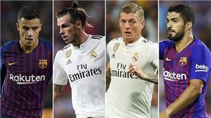 Nhận định và dự đoán Barca vs Real Madrid (22h15 ngày 28/10)