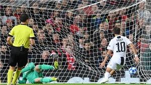 M.U 0-1 Juventus: Dybala tỏa sáng, Juventus giành 3 điểm ở Old Trafford