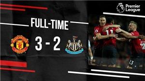 M.U 3-2 Newcastle: Mata, Martial và Sanchez lập công. M.U ngược dòng ngoạn mục