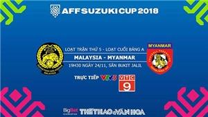 Trực tiếp và dự đoán bóng đá và Việt Nam vs Campuchia, Malaysia vs Myanmar. VTV6, VTV5, VTC3.