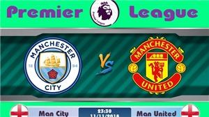 Trực tiếp Man City vs M.U (23h30, 11/11) trên kênh nào? Trực tiếp bóng đá MU vs Man City