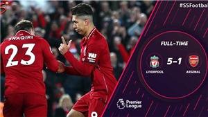 VIDEO Liverpool 5-1 Arsenal: Liverpool quá nhanh, quá mạnh, quá nguy hiểm