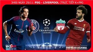 Soi kèo PSG vs Liverpool (03h00 ngày 29/11), vòng bảng Champions League