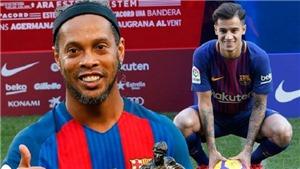 Ronaldinho tiên đoán Coutinho gia nhập Barca từ năm... 2015