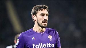 Đội trưởng Astori của Fiorentina đột tử, cả nước Ý sốc, hoãn các trận đấu hôm nay
