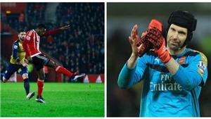 Xem lại 'siêu phẩm' của đội trưởng Curacao vào lưới Arsenal ở Ngoại hạng Anh