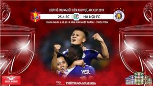 Soi kèo 4.25 SC vs Hà Nội (15h00 ngày 2/10). Lượt về chung kết liên khu vực AFC Cup 2019. Trực tiếp FOX Sport