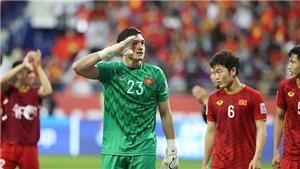CẬP NHẬT tối 2/2: Tuyển Việt Nam vào Top 16 châu Á. Báo Nga khen ngợi Đặng Văn Lâm