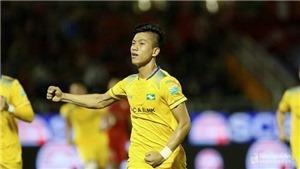 SLNA thắng 2-0 trước Quảng Nam, HAGL đánh bại Sanna Khánh Hòa 4-1