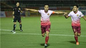 VIDEO bàn thắng Sài Gòn FC 2-1 Khánh Hòa