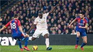 VIDEO Crystal Palace 1-3 M.U: Lukaku lập cú đúp, MU đua Top 4 với Arsenal và Chelsea