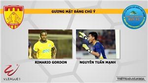 Nhận định và trực tiếp Thanh Hóa vsSanna Khánh Hòa BVN (17h00 ngày 20/04)