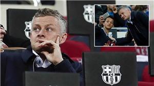 MU: Solskjaer cười như được mùa khi đi do thám Barca