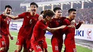 Việt Nam tăng 1 bậc lên 98 thế giới, có lợi thế ở vòng loại World Cup 2022
