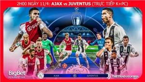 Soi kèo Ajax vs Juventus (02h00, 11/4). Trực tiếp bóng đá. Lịch thi đấu Cúp C1