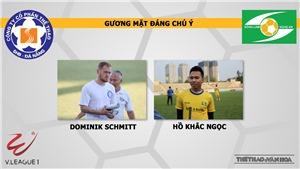 Nhận định và trực tiếp Đà Nẵng vs SLNA (17h00,19/4)
