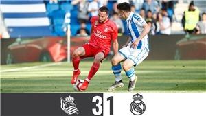 Real Sociedad 3-1 Real Madrid: Hàng thủ liên tiếp mắc sai lầm, Real Madrid thua trận thứ 11