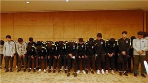Gác chân lên cúp, toàn bộ cầu thủ U18 Hàn Quốc phải xin lỗi người dân Trung Quốc