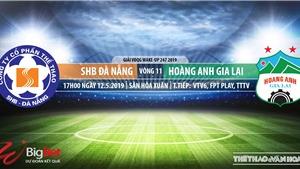 Đà Nẵng vs HAGL: VTV6 trực tiếp bóng đá (17h00, 25/05)