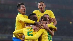 Brazil: Danh sách thi đấu chính thức. Lịch thi đấu Copa America 2019