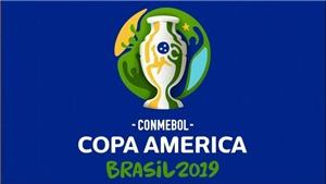 Copa America 2019: Danh sách thi đấu chính thức của các đội