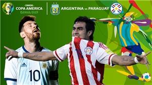 Soi kèo bóng đá Argentina vs Paraguay (7h30 ngày 20/6). Trực tiếp Copa America 2019