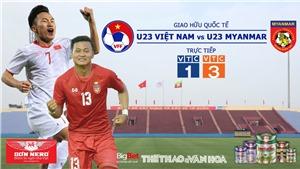 VTC1, VTC3, VTV6, VTV5 trực tiếp bóng đá.Soi kèo U23 Việt Nam vs U23 Myanmar