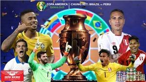 Soi kèo Brazil vs Peru (03h00 ngày 8/7). Trực tiếp bóng đá Chung kết Copa America 2019