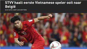 Truyền thông Bỉ phấn khích khi Công Phượng gia nhập Sint Truidense