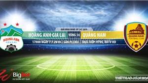 HAGL đấu với Quảng Nam: Trực tiếp bóng đá VTV6. Soi kèo, dự đoán V League 2019