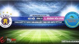 Trực tiếp bóng đá: Hà Nội FC vs Khánh Hòa. Trực tiếp VTV6, bóng đá TV, FPT Play