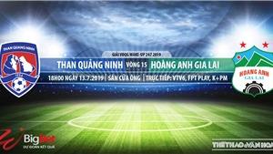 Trực tiếp bóng đá: HAGL đấu với Quảng Ninh. VTV6 trực tiếp Quảng Ninh vs HAGL