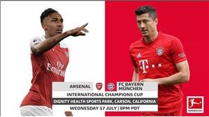 Link xem trực tiếp Arsenal vs Bayern Munich (10h00, 18/07)