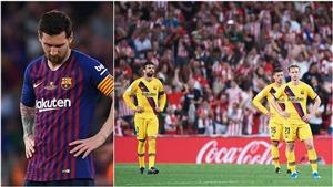 Thống kê: Thiếu Messi, Barca chỉ là đội bóng trung bình