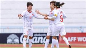 Trực tiếp bóng đá hôm nay. Kết quả bóng đá: Nữ Việt Nam 2-1 Philippines, nữ Đông Nam Á