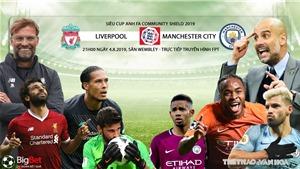 Soi kèo bóng đá: Liverpool vs Man City (21h00 ngày 4/8). Trực tiếp Siêu Cúp Anh 2019