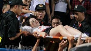 CLB Nam Định xin lỗi về vụ CĐV làm loạn bằng pháo sáng ở sân Hàng Đẫy