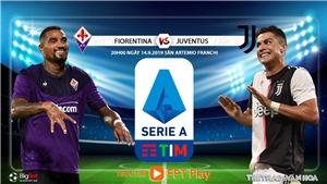 Soi kèo bóng đá: Fiorentina đấu với Juventus (20h00 hôm nay). Trực tiếp FPT Play