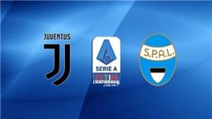 KẾT QUẢ BÓNG ĐÁ Juventus 2-0 SPAL: Juventus tạm chiếm ngôi đầu Serie A
