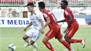 KẾT QUẢ BÓNG ĐÁ: TPHCM 1-2 HAGL, Hồng Duy và Văn Thanh ghi bàn giúp HAGL trụ hạng