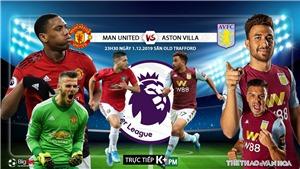 Kèo MU vs Aston Villa: Soi kèo Ngoại hạng Anh. Trực tiếp bóng đá K+, K+PM, K+PC