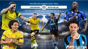 Soi kèo Dortmund đấu với Inter Milan. Trực tiếp bóng đá C1 (K+, K+PM, K+PC, K+1, K+NS)