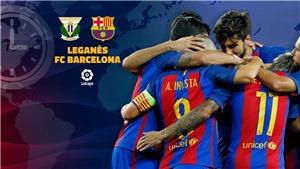 Kết quả bóng đá Leganes 1-2 Barcelona: Suarez và Vidal lập công, Barca ngược dòng giành 3 điểm