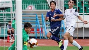 KẾT QUẢ BÓNG ĐÁ: U19 Việt Nam 0-0 U19 Nhật Bản: Chơi hơn người, U19 Việt Nam chia điểm với đối thủ