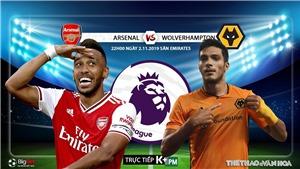 Soi kèo Arsenal đấu với Wolves (22h00 hôm nay). K+, K+PM trực tiếp bóng đá Arsenal vs Wolves