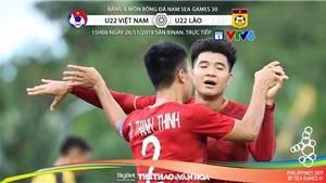 Soi kèo U22 Việt Nam vs U22 Lào (15h00 ngày 28/11). Trực tiếp trên VTV6, VTC1